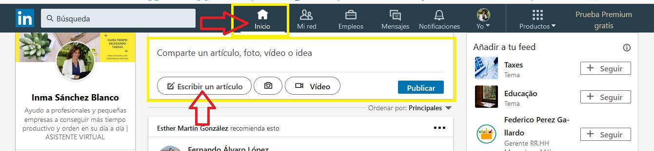 Linkedin Pulse Atareadas Asistencia Virtual