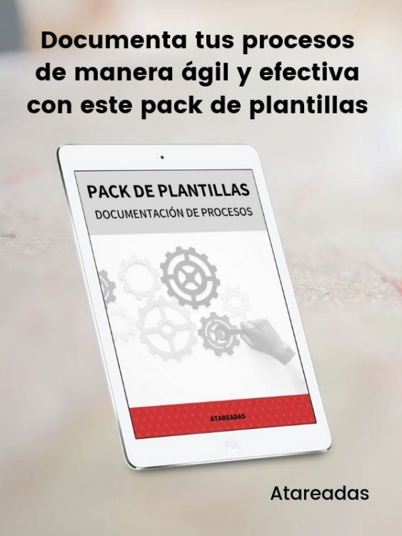 Pack plantillas procesos Atareadas