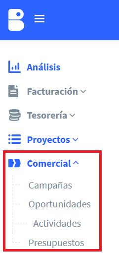 Comercial billage Atareadas